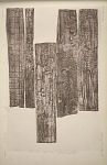 Wooden lintel, probably from the outer doorway of Temple A. See Plate 73 & Pages 45-47.