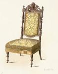 Fauteuil et Chaise de salon (Renaissance).