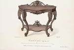 Console de salon Style Louis XVI.