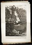 Plate XXXII - Veduta di una parte de' fondamenti del Teatro di Marcell