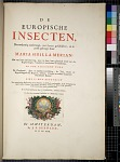 de Europische Insecten