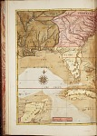 A map of Carolina, Florida, and the Bahama Islands.