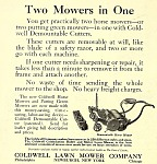 Two mowers in one.