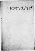 view Notes on Cemetery Epitaphs digital asset: Notes on Cemetery Epitaphs
