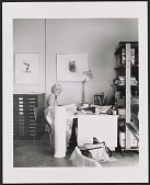 """view Mary Margaret """"Moo"""" Anderson at her desk digital asset number 1"""