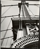 view Manhattan Bridge looking up digital asset number 1