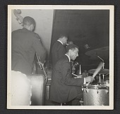 view George Morrow, Max Roach, Sonny Rollins and Kenny Dorham on stage digital asset number 1