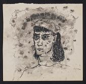 view Gertrude Abercrombie self-portrait digital asset number 1