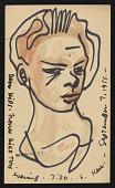 view Karl Priebe, Milwaukee, Wisconsin postcard to Gertrude Abercrombie, Chicago, Illinois digital asset number 1