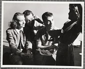 view Karl Priebe, Dudley Huppler, and unidentified woman digital asset number 1