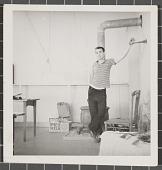 view Dudley Huppler in his studio digital asset number 1