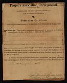 view Ordination certificate for Robert Alexander digital asset number 1