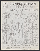 view Flyer for Temple of Man Magic Theatre benefit digital asset number 1