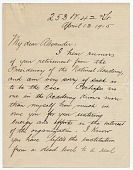 view Henry B. Snell to John White Alexander digital asset: page 1