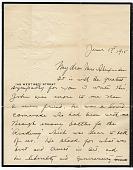 view Harry W. (Harry Willson) Watrous to Elizabeth Alexander digital asset: page 1