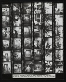 view Contact sheet with images of Joan Brown and William T. Wiley digital asset number 1
