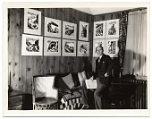 view James E. Allen in his studio digital asset number 1