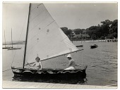 view James E. Allen in a sailboat digital asset number 1