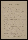 view Poppy Cannon, New York, N.Y. letter to Charles Henry Alston digital asset number 1