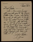 view Byron Browne, New York, N.Y. letter to Charles Henry Alston digital asset number 1