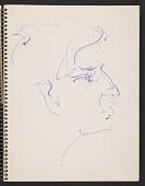 view John Altoon sketchbook digital asset: page 5