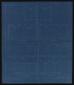 view Blueprints for seven standard schemes for Citizens Committee for the Army and Navy triptych project digital asset number 1