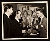 view Lowell Collins, Marcel Duchamp, and Paul Maxwell at the American Federation of Arts 48th Annual Convention digital asset number 1