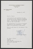 view Letter from James Johnson Sweeney, Director of the Solomon R. Guggenheim Museum, to Peter M. Riccio at Columbia University digital asset number 1