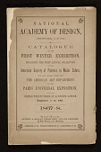 view <em>First Winter Exhibition</em> catalog of the National Academy of Design digital asset number 1