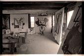 view Helen Frankenthaler in her Provincetown studio digital asset number 1