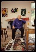 view Sam Francis in his studio digital asset number 1