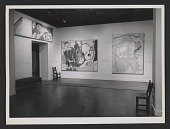 view Installation view of Helen Frankenthaler's show at the Jewish Museum digital asset number 1