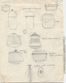 view Sketches of Pots digital asset: page 1