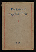 view Catalogue of the <em>Seventh Annual Exhibition of the Society of Independent Artists</em> digital asset: cover
