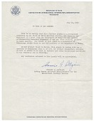 view Francis J Colligan, Washington, D.C. to To Whom It May Concern digital asset number 1