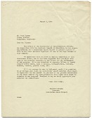 view Florence Arquin, Chicago, Ill. to Walt Disney, Hollywood, Calif. digital asset number 1