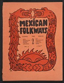 view Mexican Folkways, vol. 4, no. 2 digital asset: cover