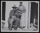 view Portrait of Frida Kahlo and Diego Rivera with dog digital asset number 1