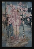 view Photograph of Kiki Smith sculpture,<em>Untitled (Roses)</em>in process, Art Foundry, Santa Fe, New Mexico digital asset number 1