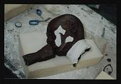 view Photograph of Lesley Dill sculpture in process, Art Foundry, Santa Fe, New Mexico digital asset number 1