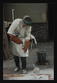 view Photograph of Judy Pfaff at Art Foundry, Santa Fe, New Mexico digital asset number 1
