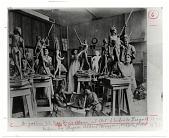 view Augustus Saint-Gauden's Class at Art Students League 1892 or 1893 digital asset number 1