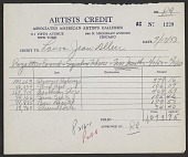 view Royalty payment statement for Laura Jean Allen digital asset number 1