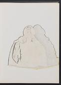 view Sketchbook of variations on the painting <em>Infanta Margaret Teresa in a pink dress</em> digital asset: page 5