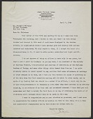 view John Taylor Arms letter to Frederic Whitaker digital asset number 1