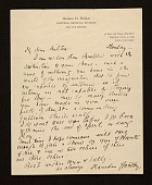 view Marsden Hartley, New York, N.Y. letter to Milton Avery digital asset number 1