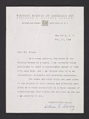 view William E. Sebring letter to Milton Avery digital asset number 1