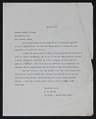 view C. J. (Clarence Joseph) Bulliet letter to Dwight H. (Dwight Herbert) Green digital asset number 1