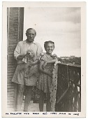 view Pablo Picasso and daughter Maya Picasso digital asset number 1