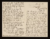 view Gifford Beal letter to Maud Ramsdell digital asset number 1